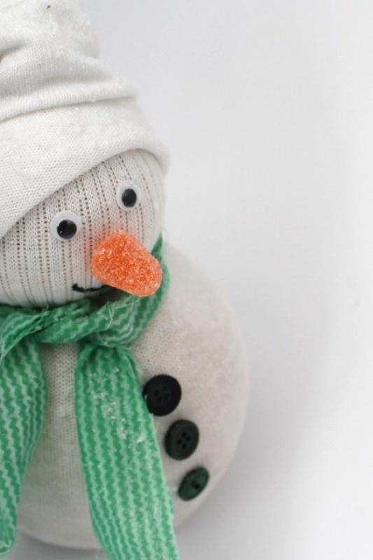 -DIY- Sneeuwpop