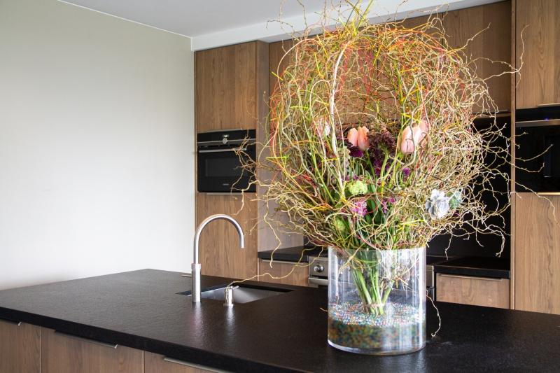 Covid-19 bloemwerk