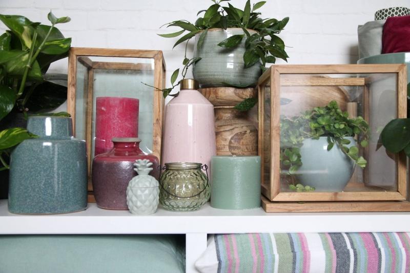 Woondecoratie en (heel veel) planten.